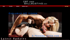 CBT and Ball Busting