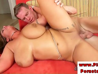 Experienced pornstar Eva Notty demonstrates advantages of having sex with busty MILF