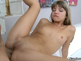 Gina Gerson rewards devoted man for good time at the playground by having anal sex action with him