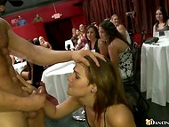 Awesome bachelorette party with adventurous ladies and couple of handsome strippers