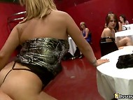 Awesome bachelorette party with adventurous ladies and couple of handsome strippers   6
