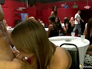 Awesome bachelorette party with adventurous ladies and couple of handsome strippers   9