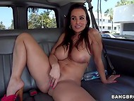 Lucky guys from the street get exceptional opportunity to take a sexual ride with Lisa Ann