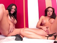 Incredible Jayden Jaymes is offering the lesbian girlfriend to lick her pussy