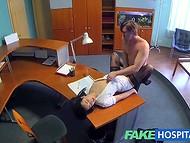 VIP клиника предлагает не только кофе и чай, но и сексуальные услуги хорошенькой медсестры 6