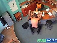 VIP клиника предлагает не только кофе и чай, но и сексуальные услуги хорошенькой медсестры 7