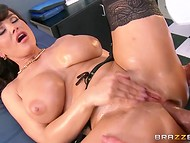 Voluptuous Lisa Ann is having some fun with horny patient in the closed operating