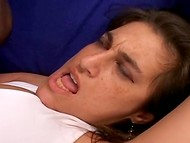 Family quarrel between two adult people turned into passionate sex action 6