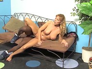 Adult woman shares her sexual experience with two horny black youngsters 11