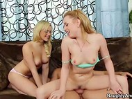 Flawless peach Mia Malkova and winning honey Lexi Belle spending time with diligent neighbor 6