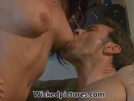 In order to relieve sadness after breakup with wife attractive guy had fun with Brandy Aniston 4