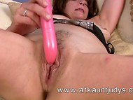 Pink dildo is like a time machine for the middle-aged woman named Melissa Taylor  7