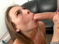 Honey knew that she must satisfy her sex partner to pass the casting successfully 6