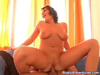 Curly-haired dame never misses opportunity to get her vagina and butthole penetrated