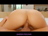 First-class porn scene will satisfy those, who prefer romantic sexual relations 8