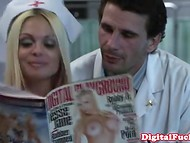 New nurse found doctor's porn magazine and offered him real sexual pleasure 3