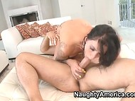MILF brought her loves tons of pleasure giving head and making hot love 10