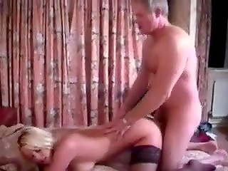 Blonde nymph desires for trying something special in sex