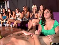 Party continued after stripper came to entertain a crowd of fantastic women