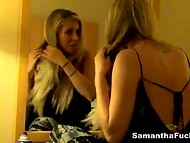 One day with American pornstar Samantha Saint was recorded in New York city 5