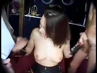 Horny girlie gets her pussy and ass exploited