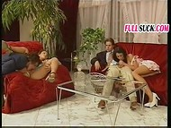 Awesome Italian porno movie with many detailed scenes of group action 7