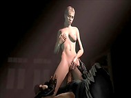 Three impudent budies penetrated provocative special agent Jill Valentine 6
