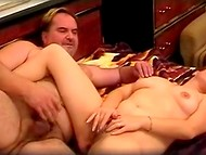 Amateur movie about the mature Slovenian swingers' dirty sexual games 7