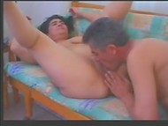 Mature Turkish dame having oral sex with her devoted husband at home
