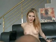 It looks like Bulgarian chick prefers rude attitude during the awesome sexual action 10