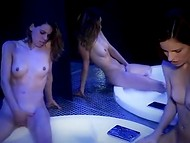 Cute Portugal lassies with fascinating petite bodies enjoy their time in cool Jacuzzi