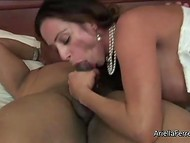 Buddy rent a hotel room and called astonishing Latina with giant boobs to have dirty fun