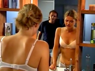 Finnish romantic movie about hot relations between seductive blonde and her man
