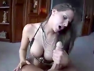 Rachael Roxxx does fantastic things with his cock