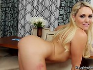 Adorable Mia Malkova with light hair got properly satisfied in front of the camera 5