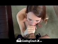 Teenage skinny model passed successfully a special interview thanks to her tiny sissy 7