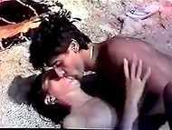 Greek vintage movie presents adorable young ladies and their passionate lovers