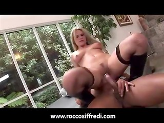 Jessica is fucked hard from mouth to the ass