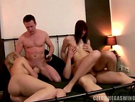 Perverted guy recorded the most exciting moments of Czech swinger party