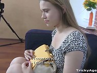 Russian student came to the casting because she could not resist huge reward 4