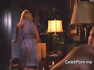 Funny and lustful intimate scenes with celebrity Anne Heche in the compilation clip 4