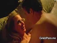 Funny and lustful intimate scenes with celebrity Anne Heche in the compilation clip 5