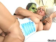 Fucker masked as zombie banged woman of easy virtue deep in tight asshole 7