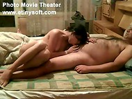 Amateur Bulgarian couple Yulian and Sevda swing into action in front of the camera 8