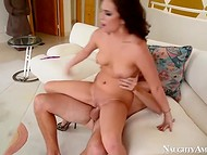 Young dame was happy to deal with a youngster that used his hard cock like a professional 8