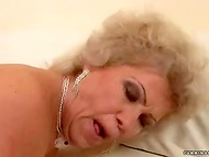 Old Hungarian slut agreed to test various adult toys and great fucking machine 8