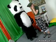 Russian intelligence officer caught a panda and got fucked in attempt to receive secret information 5