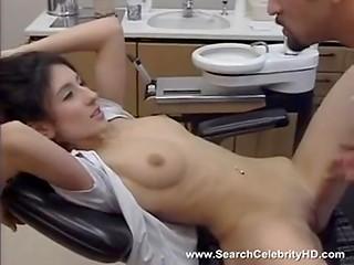 Imposing doctor assured Turkish babe Sibel Kekilli that dental care is a nice thing