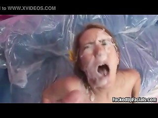Funny video compilation with the most powerful and explosive facial ejaculations