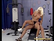Fitness trainer likes to poke taut mature women who always go to his training with pleasure